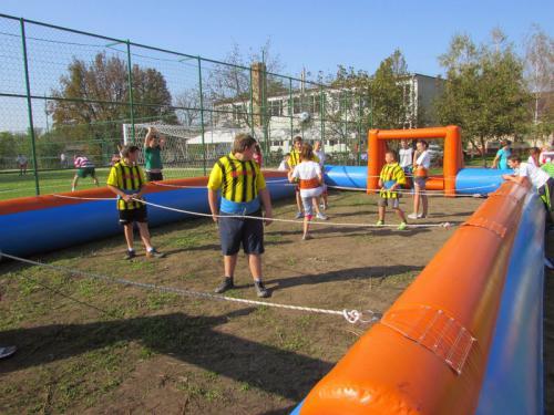 2014. október 11-én került sor a sportpálya, a műfüves kispálya ünnepélyes átadására