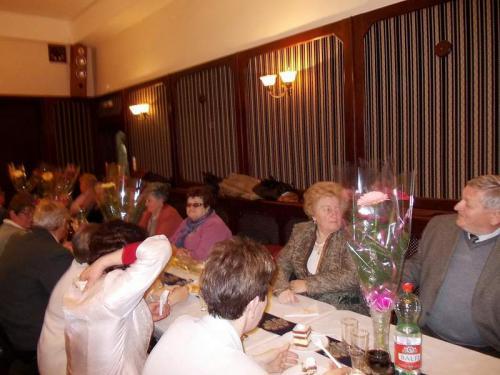 A borsodivánkai Nyugdíjas Klub Nőnapi ünnepsége