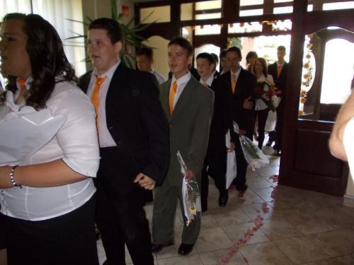 Ballagás az Általános Iskolában