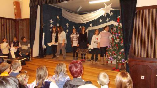 Karácsonyi ünnepség 2012.